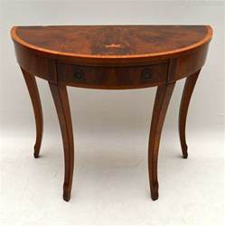 Yew Wood Console Table Antique Yew Wood Console Side Table Antiques Atlas