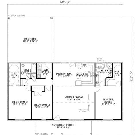 single story house plans  sq ft arts house plans