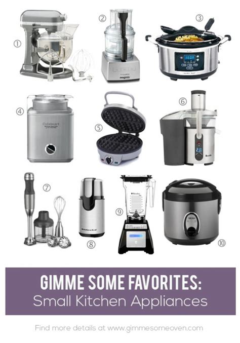 Best Small Home Appliances Favorite Small Kitchen Appliances Gimme Some Oven