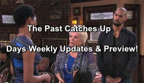days of our lives cast updates and spoilers why true o days of our lives spoilers updates week of march 6 eli