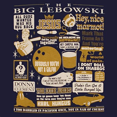 Big Lebowski Rug Quote by Yeah Well You That S Just Like Your Opinion