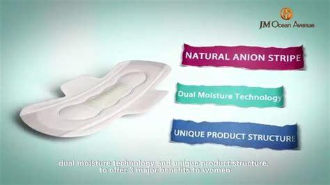 Secret Sanitary Napkin Jmoa secret sanitary napkin with negative ion
