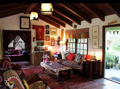 ideas unique design of the bohemian home style