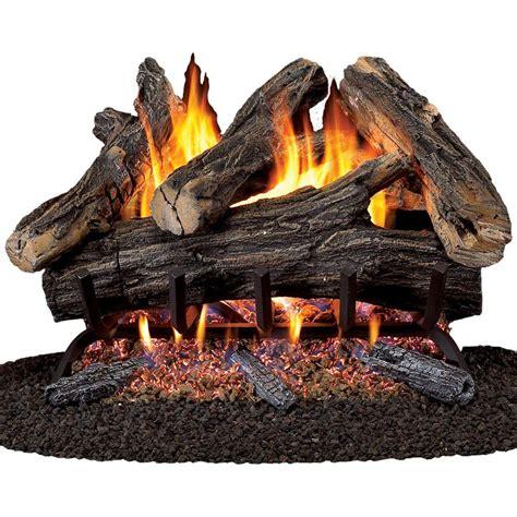 procom 24 in vented gas fireplace log set wan24n