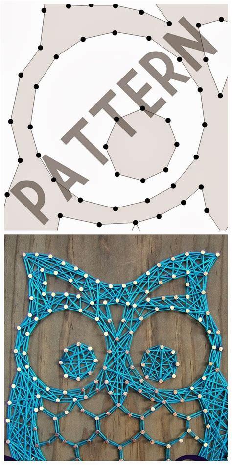 pinterest pattern art nine red string art pattern downloads diy pinterest