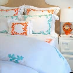 Seaside Comforters Coral Bedding Collection