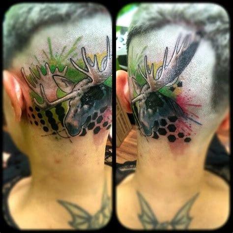 moose head tattoo tattoos pinterest