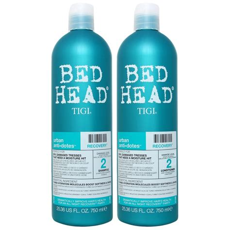 bed head tigi bed head hair care urban antidotes recovery tween set