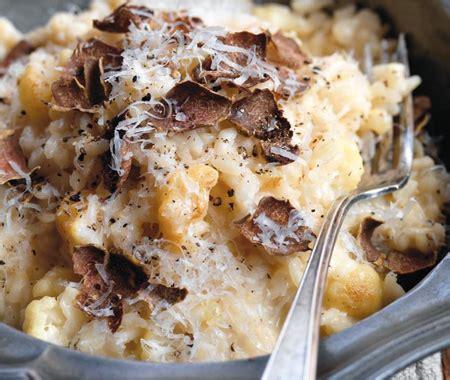 white truffle risotto recipe
