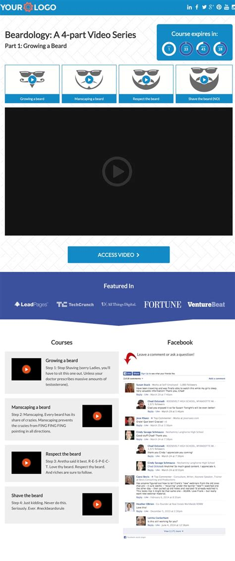 Marketplace 5 Personal Trainer Templates For Building High Converting Landing Pages Leadpages Template Marketplace