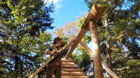 log cabin construction log gable ends center column