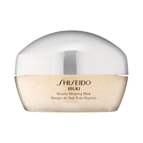 shiseido ibuki sleeping mask beautyalmanac