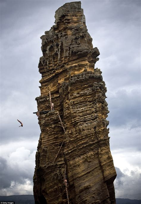 highest cliff dive and places cliff diving and gliding