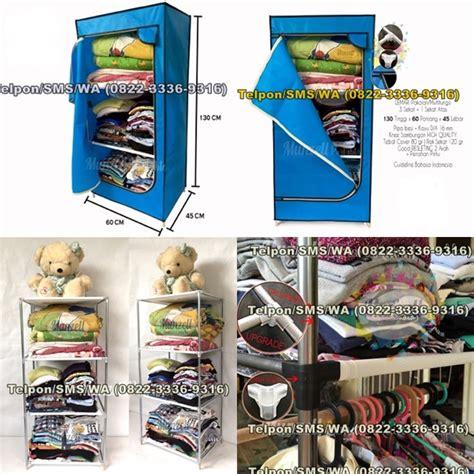 Lemari Pakaian Plastik Serbaguna 6 2 1 0822 3336 9316 lemari kaca jual lemari kaca harga
