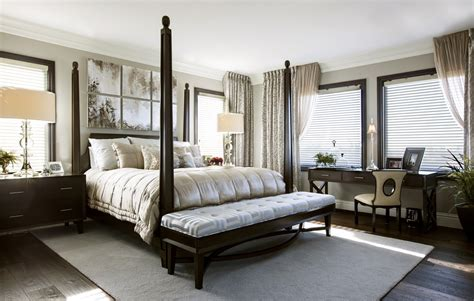 Master Bedroom Closets hamptons inspired luxury master bedroom before and after