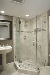 showers bathroom best 25 glass shower walls ideas on half