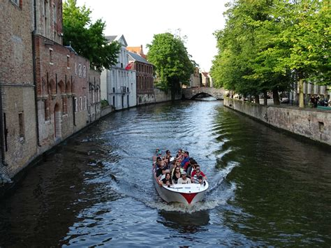 boat tour in bruges travelogue bruges old town chocolate and french fries