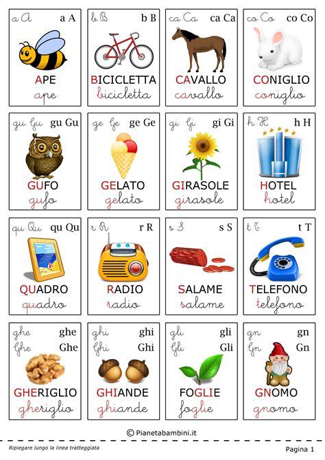 the gallery for gt alfabeto italiano per bambini
