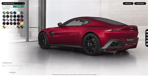 2019 Aston Martin Vantage Configurator by Vwvortex All New 2019 Aston Martin Vantage Unveiled