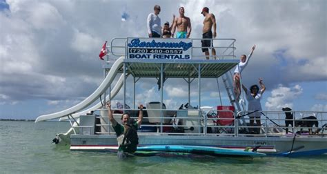 pontoon party boat with slide key west guide to the finest places on the island