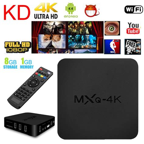 Murah Tv Box Android Smart Mxq 4k Rk3229 1g 8g H 264 H 265 best mxq 4k android 6 0 rk3229 28nm cpu 1g ram 8g rom kd 17 loaded smart set top