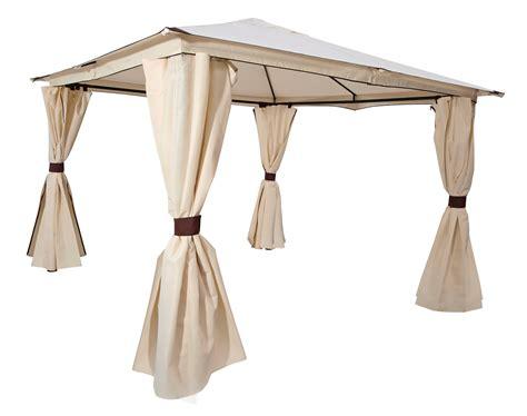 pavillon 3x4 wasserdicht mit seitenteile gartenpavillon pavillon metall gartenpavillion 3x3 meter