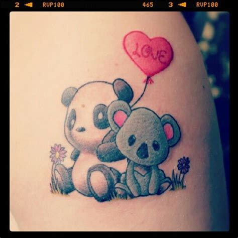 tattoo panda significato love it s perfect my next tattoo maybe one