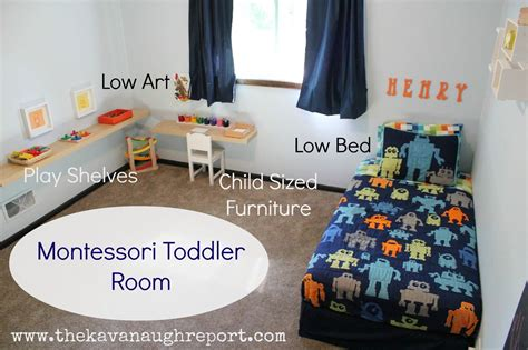 kinderzimmer deko roboter montessori toddler bedroom max montessori