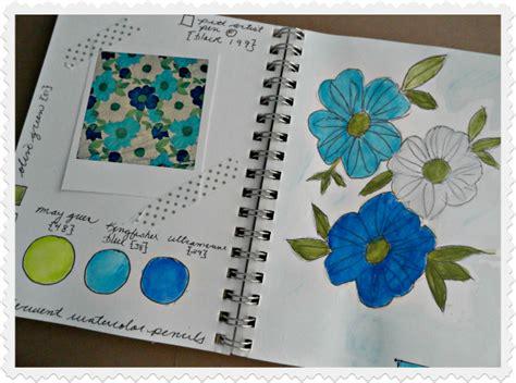 sketchbook draw and paint mod serendipity vintage studio sketchbook sunday retro blooms