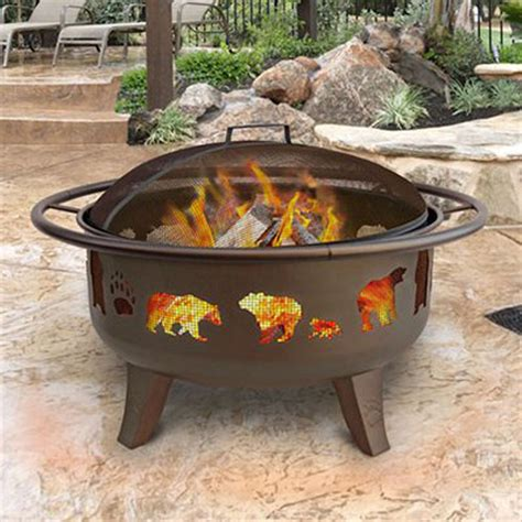 wood burning firepits enlarged image