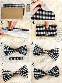 How To Make Paper Bow Tie - 10 useful diy fashion ideas
