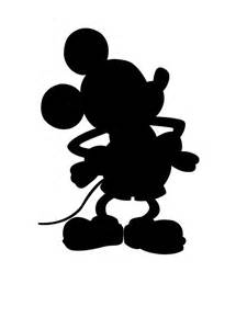 silhouette mickey free download clip art free clip art clipart library
