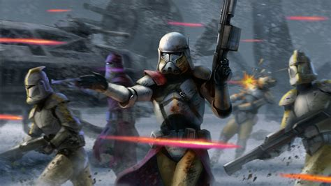 google wallpaper star wars the clone guard computer wallpapers desktop backgrounds