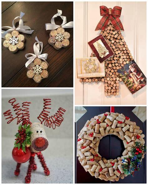 Superior Diy Christmas Door Hanger #4: Wine-cork-christmas-crafts.jpg