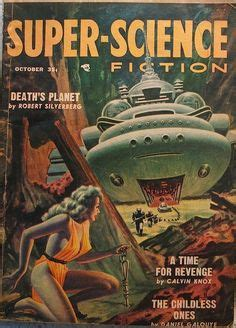 libro space science fiction super utopia pulp cover robots science fiction vintage art pulp ciencia revista