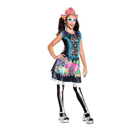 high costume skelita calaveras high costume