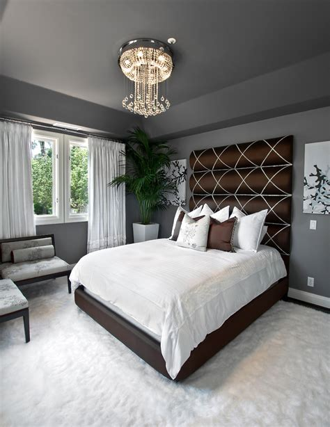 Design Ideas For Black Upholstered Headboard with Breathtaking Size Bed Without Headboard Decorating Ideas Gallery In Bedroom Transitional