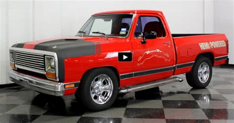 hemi dodge truck customized 1984 dodge ram 5 7l hemi truck cars