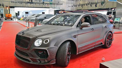 bentley mansory prices bentley bentayga mansory driving sound