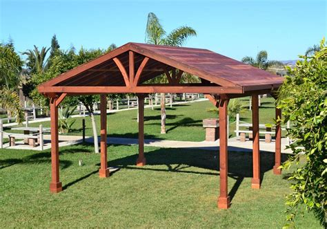 Outdoor Pavilion Plans That Offer a Pleasant Relaxing Time