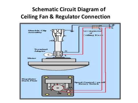 capacitor fan regulator circuit diagram ceiling fan