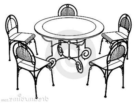 Living Room Designs Indian Style Table And Chairs Drawing Lovely Chairs And Tables Clipart 44