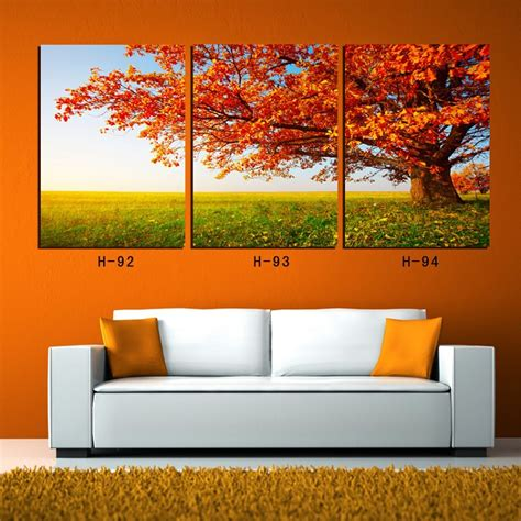 3 canvas wall tree painting tree of