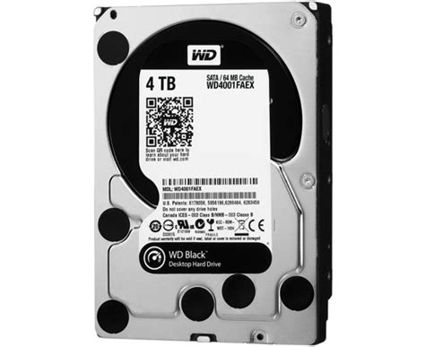 Harddisk 4tb western digital ships 4tb wd black drive melds speed with space for 339