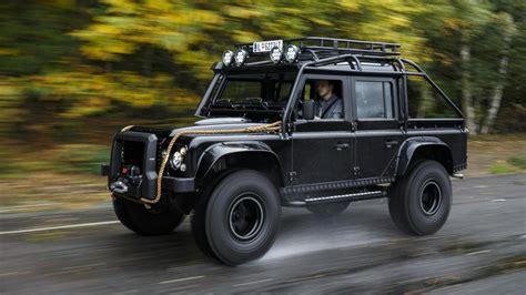 land rover truck bond bond special topgear com drives the 007 spectre defender