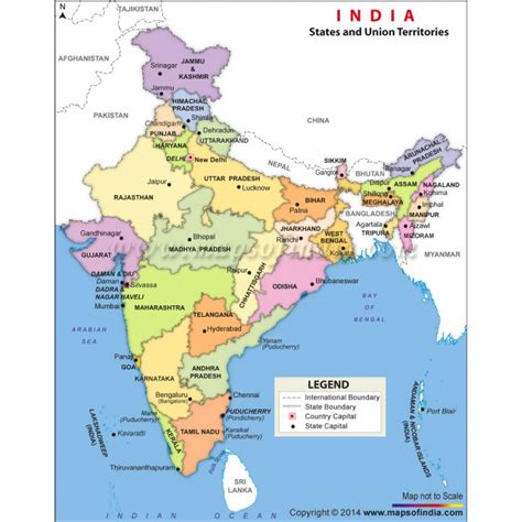 india on map buy political map of india