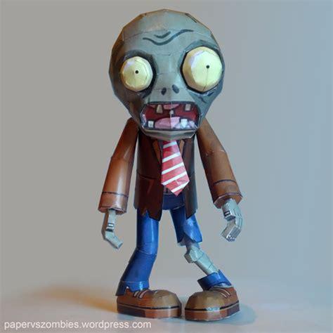 imagenes de zombie en 3d papercraft paper vs zombies