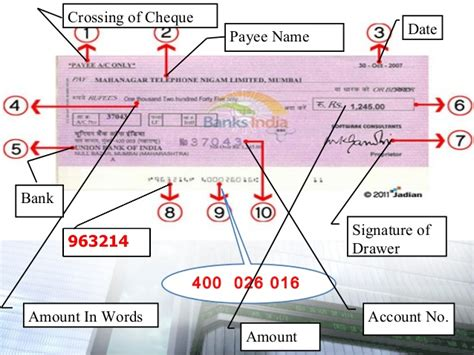 Meaning Of Drawer And Drawee Of Cheque by Cheque Meaning Crossing And Types