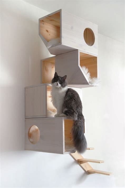 stylish cat tree 5 stylish modern cat trees for design lovers