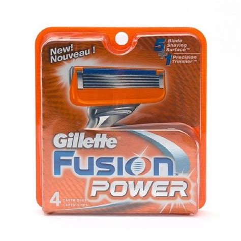 Comfort Wipes Buy Gillette Fusion Power Replacement Blades In Canada
